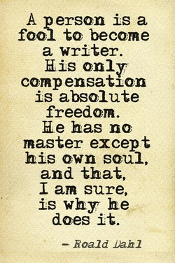 A person is a 