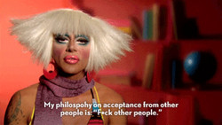 My philospohyo acceptance from other 