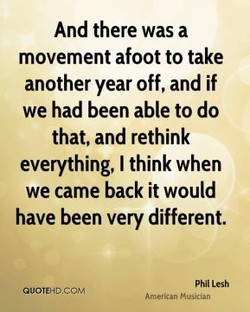 And there was a 
