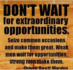 DON'T WAIT 