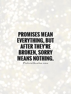 PROMISES MEAN 