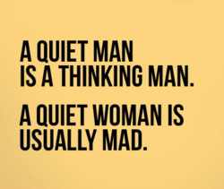A QUIET MAN 