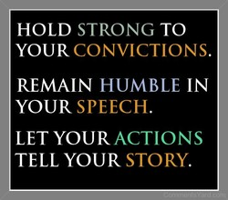 HOLD STRONG TO 