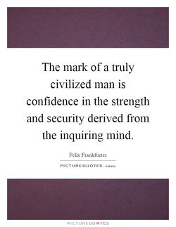 The mark of a truly 