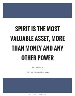 SPIRIT IS THE MOST 
