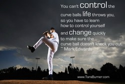 You cant control the 