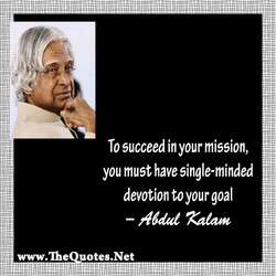 To succeed in your mission, 