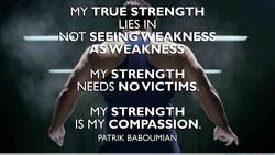 MY TRUE STRENGTH 