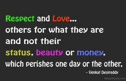 Respect and Love... 
