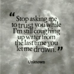 Stop asking me 