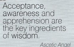 Acceptance, 