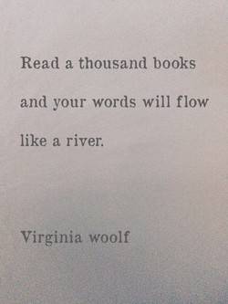 Read a thousand books 