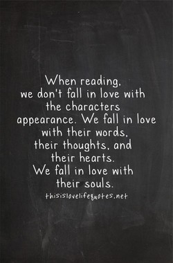When reading, 