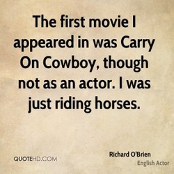 The first movie I 