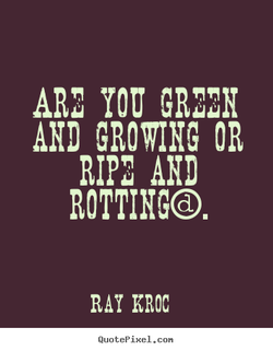 GROWING OR 