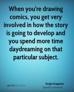 When you're drawing 