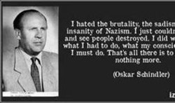 I hated the brutality, the sadisn 