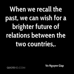 When we recall the 