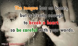 but' is strong enough 