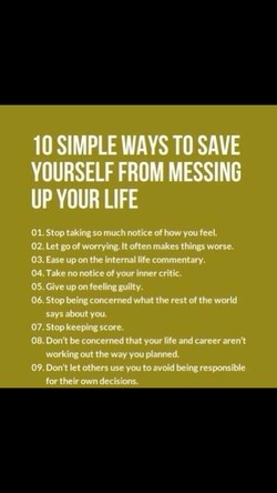 10 SIMPLE WAYS TO SAVE 