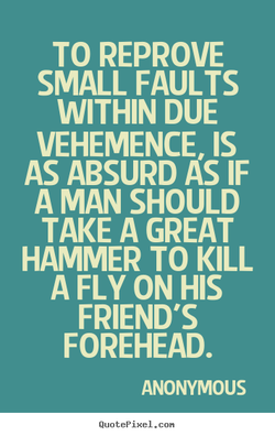 TO REPROVE 