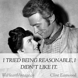 1 TRIED BEING REASONABLE, 1 