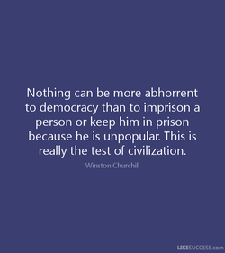 Nothing can be more abhorrent 