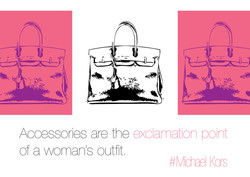 Accessories are the exclamation point 