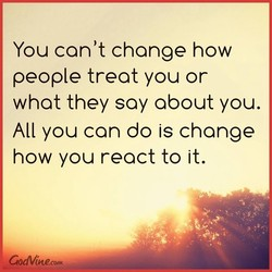 You can't change how 