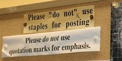 Pléase 'do not'k use 