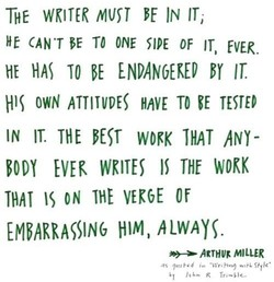 THE WRITER IN IT, 