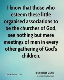 I know that those who 