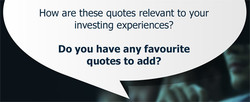 How are these quotes relevant to your 