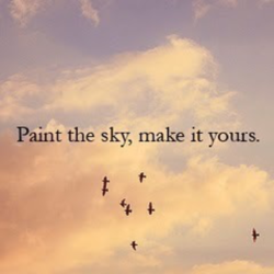 Paint the sky, make it yours.