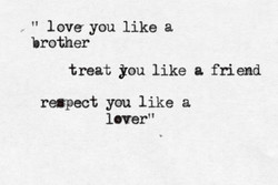 love you like a 