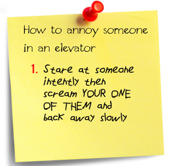 How to annoy someone 