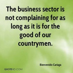 The business sector is 