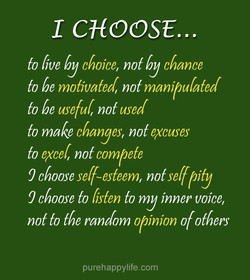 1 CHOOSE...