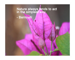 Nature always nds to act 