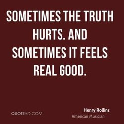 SOMETIMES THE TRUTH 