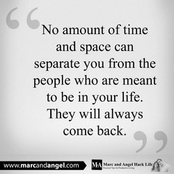 No amount of time 