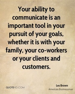 Your ability to 