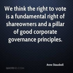 We think the right to vote 