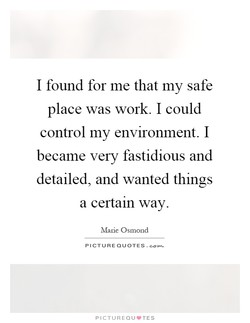 I found for me that my safe 