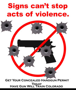 Signs can't stop 