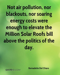 Not air pollution, nor 