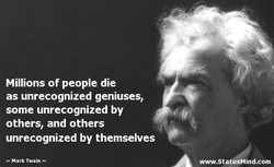 Millions of people die 