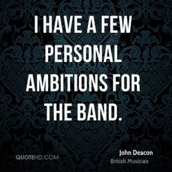 I HAVE A FEW 