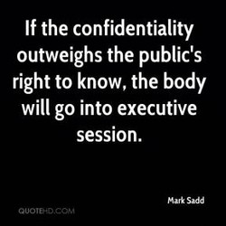 If the confidentiality 
