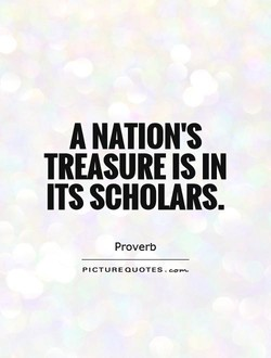 A NATION'S 